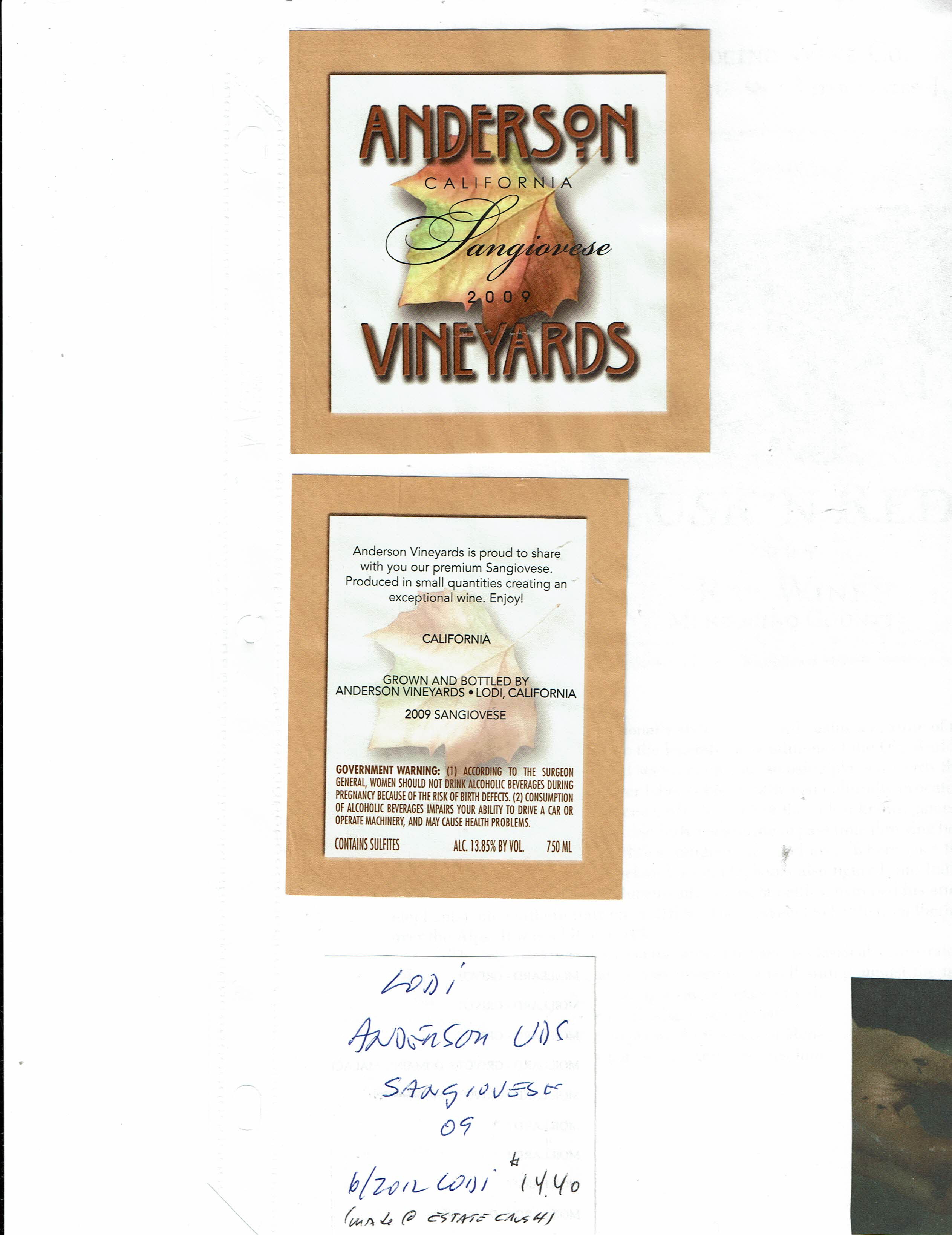 725bf60579a California - Wine Label Collection