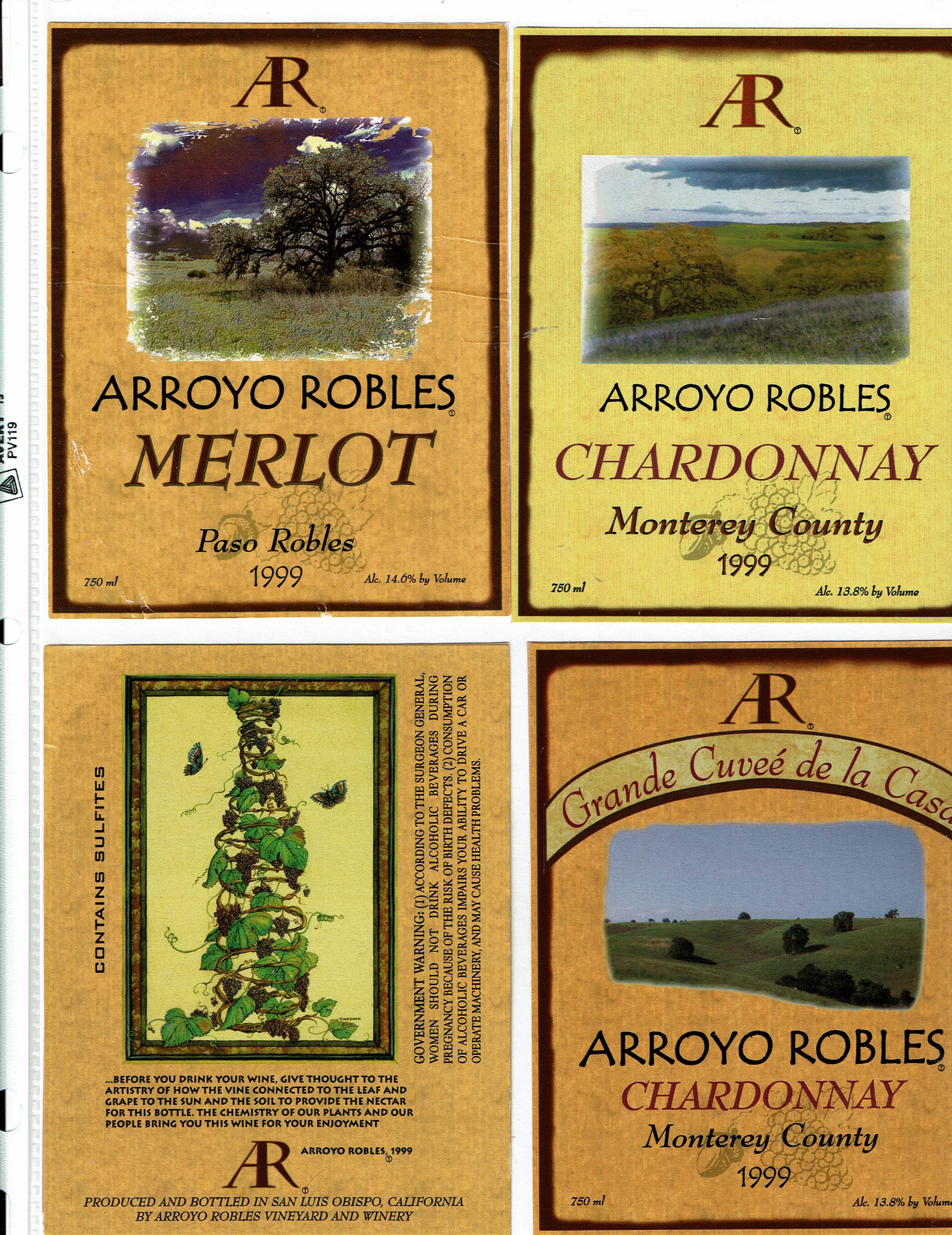 California - Wine Label Collection, Library